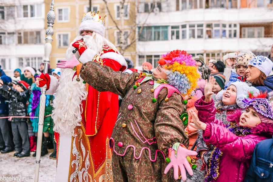 Приезд Деда Мороза в Кострому 2014