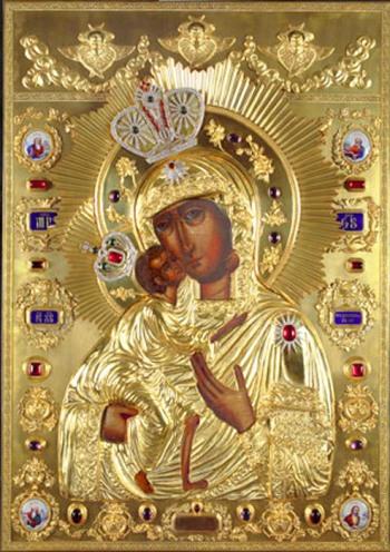 Феодоровская икона Божией Матери Кострома
