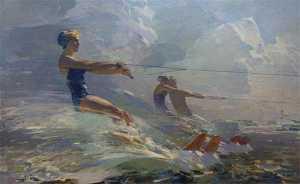 Открытие персональной юбилейной выставки произведений Владимира Александровича Кутилина: «Река жизни»