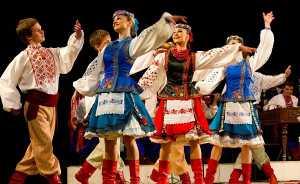 Концерт Национального академического народного хора Украины им. Г. Г. Веревки