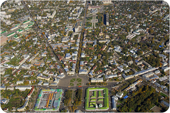Кострома | Сусанинская площадь