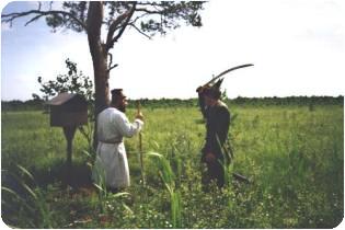 Место гибели Ивана Сусанина, красная сосна, сусанинский район