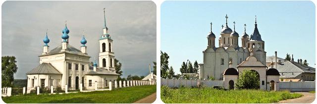 Храмы, монастыри Костромской области