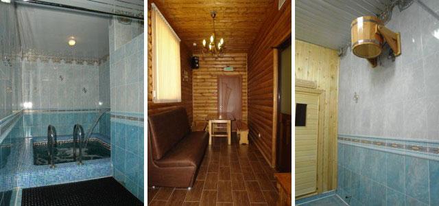 гостинично-оздоровительного комплекса «Троя».