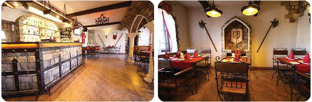 Ресторан-клуб «Грааль» в Костроме