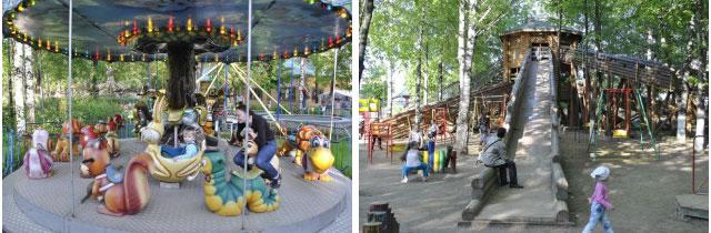 парк на никитской, парк на никитской кострома, аттракционы кострома, аттракционы, аттракционы для детей, парк аттракционов