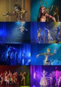 Театр моделей Совершенство, Шоу-показ ПУТЬ СОЛНЦА,  эпоха Рыб, пластика, танец, дефиле, акробатика, жонгляж, Костромской дворец творчества детей и молодёжи
