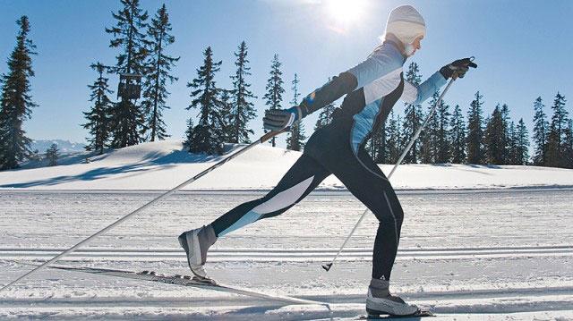 лыжи Кострома, катание на лыжах в Костроме