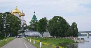 Кострома, Велосипед, Трасса