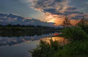 Нея, Река, Сплав