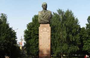 Бюст, Новиков, Кострома