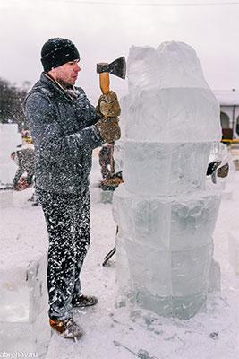 Фестиваль ледовых скульптур Кострома