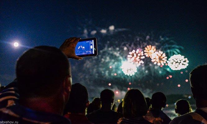 Фестиваль фейерверков Кострома