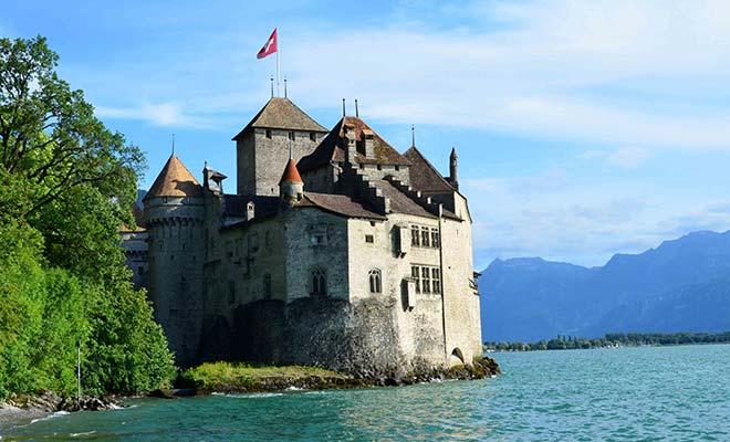 Женевское озеро в Швейцарии: пароходом из Женевы