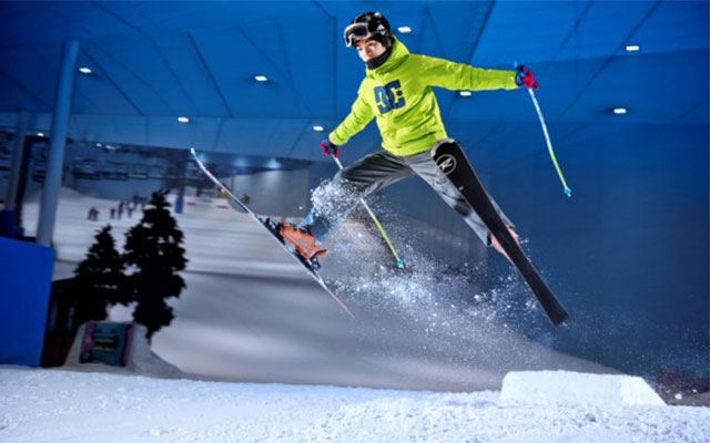 Горнолыжный комплекс Ski Dubai, Дубай