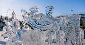 Областной фестиваль – конкурс снежно – ледовых скульптур «Кострома – зимняя сказка»