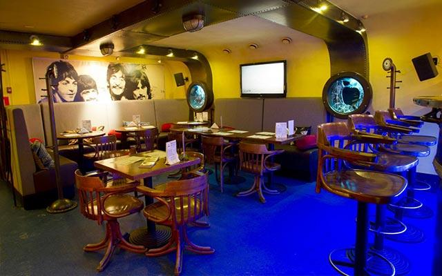 ресторан подводная лодка в питере