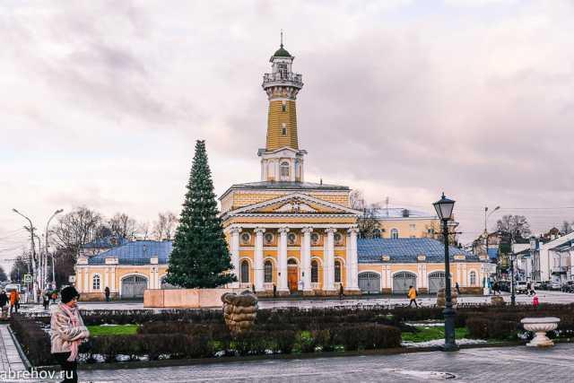 Елка, Кострома, Новости, Новый год, Праздник