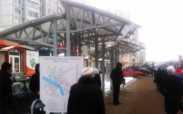 Транспорт, Кострома, Новости, Строительство
