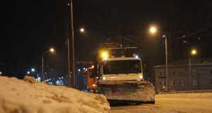 Парковка, Зима, Дороги