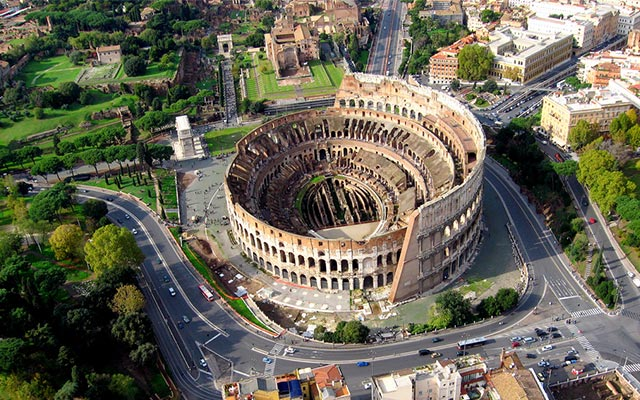 Колизей - Рим - фото