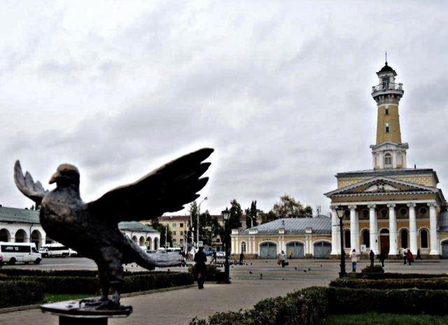 Кострома, Скульптура