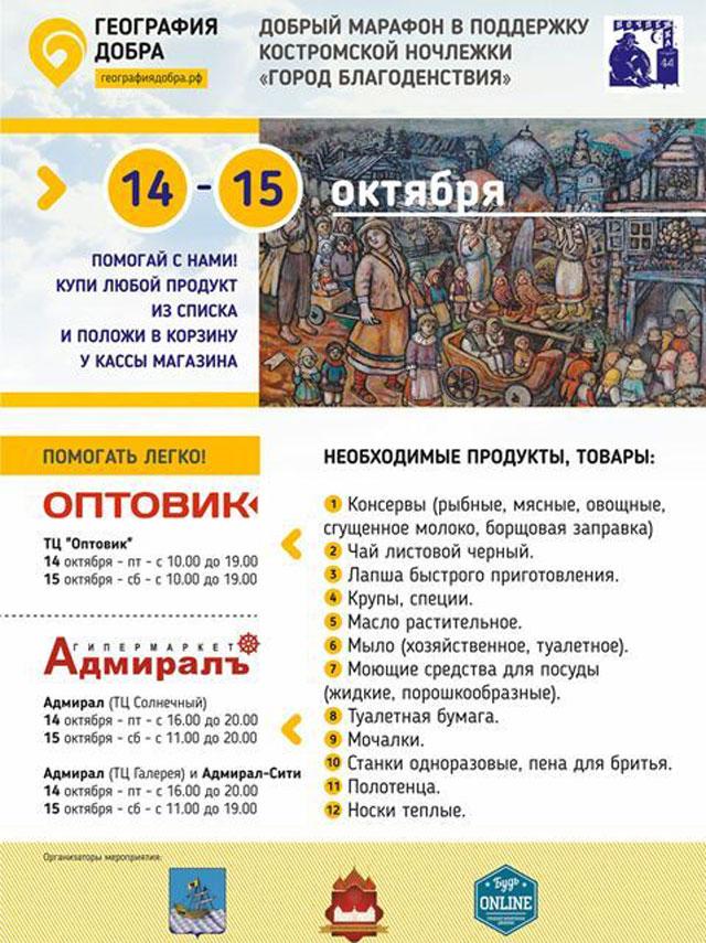 Акция, Кострома