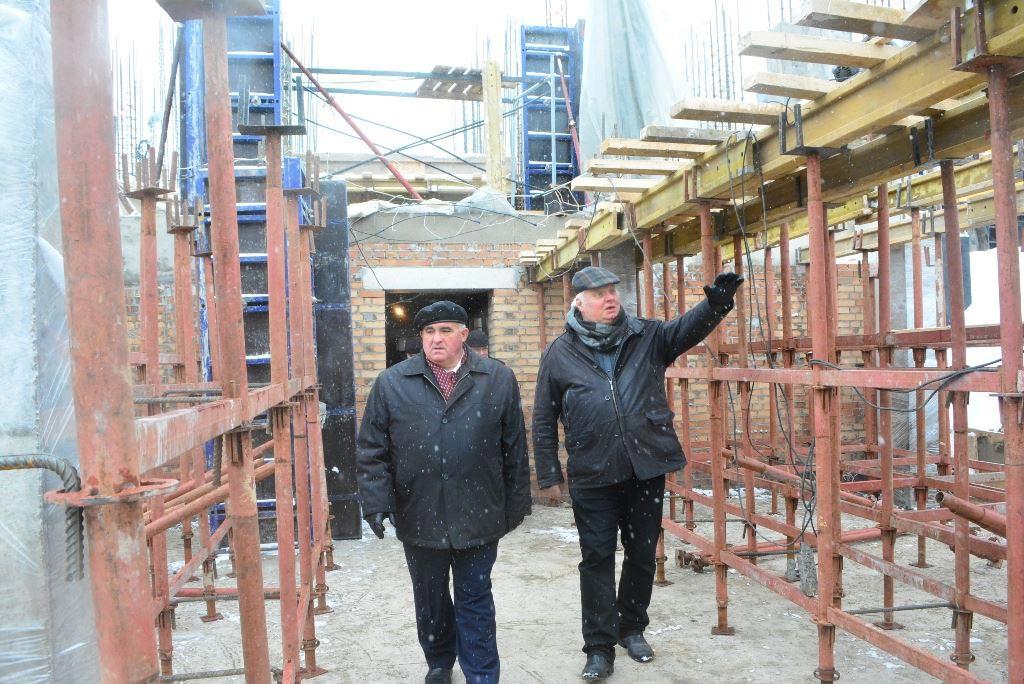 В Костроме начали строительство Богоявленского собора Храмового комплекса Костромского Кремля