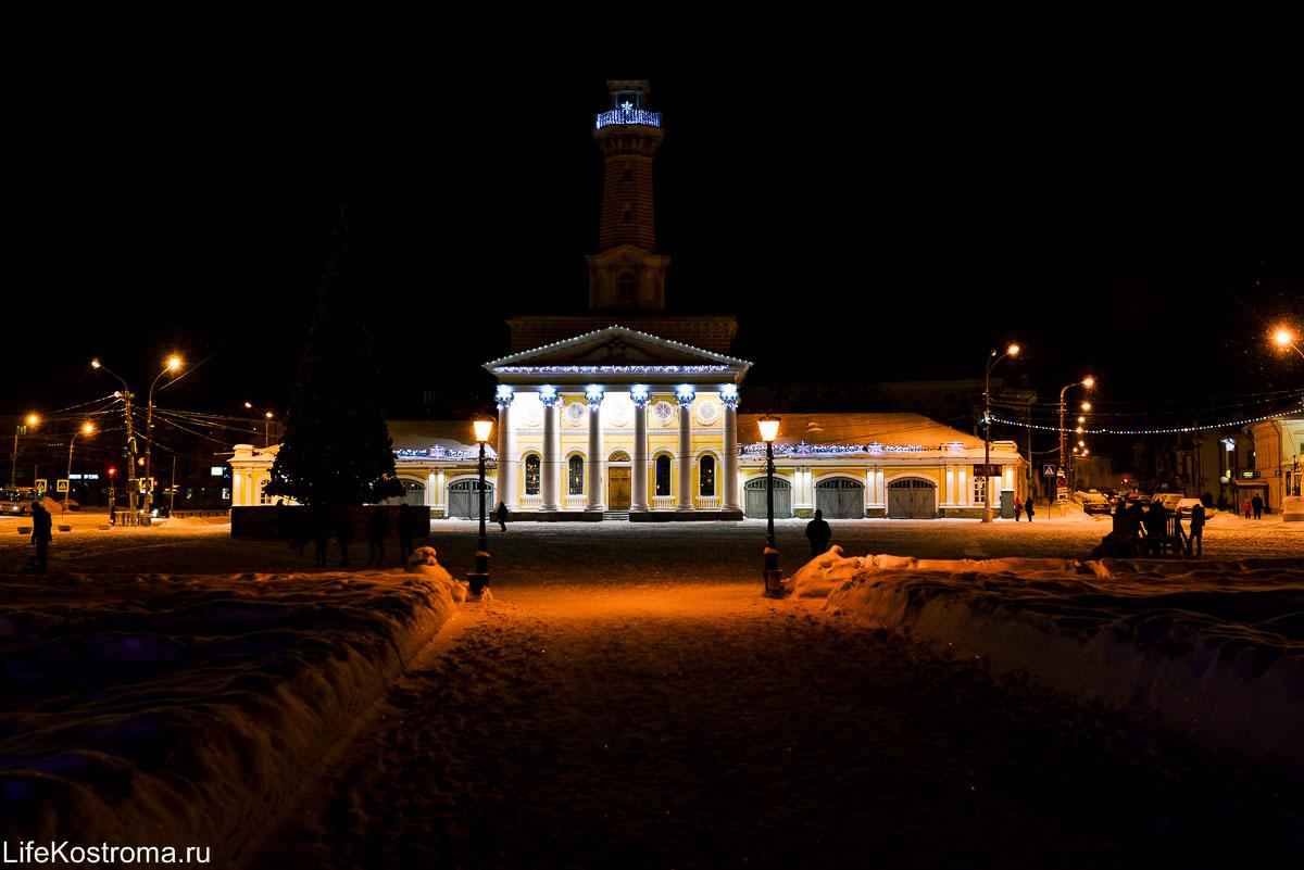 Кострома зимой - Новый год