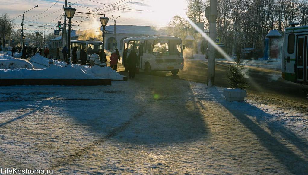Кострома, Расписание, Новый год