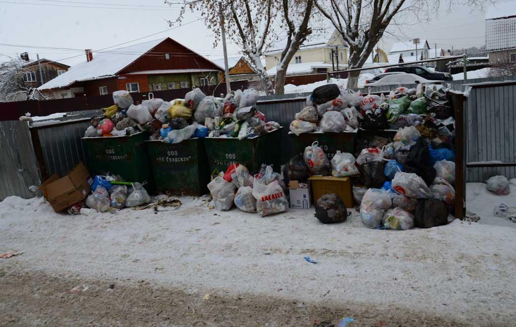 В Костроме будут штрафовать управляющие компании за несвоевременный вывоз мусора