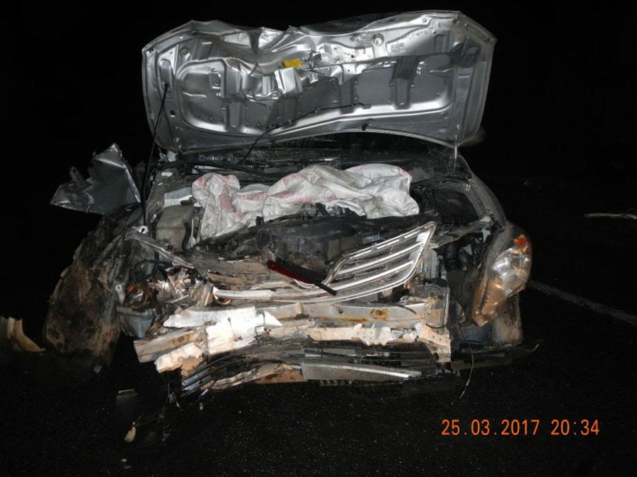 Под Костромой произошла автоавария с трагическим исходом