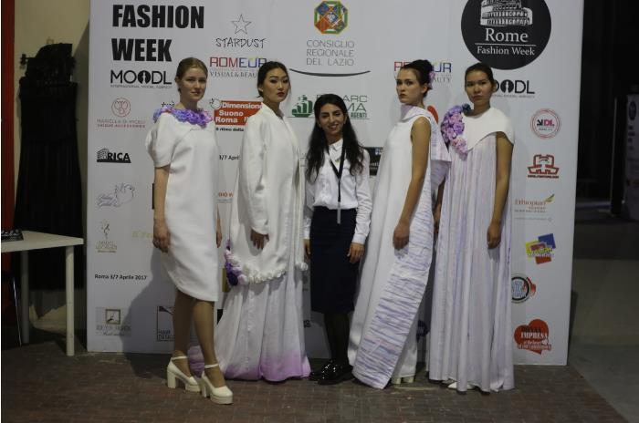 Костромской модельер Альбина Алиева приняла участие в итальянской Неделе моды