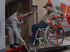 Поезд, Инвалиды