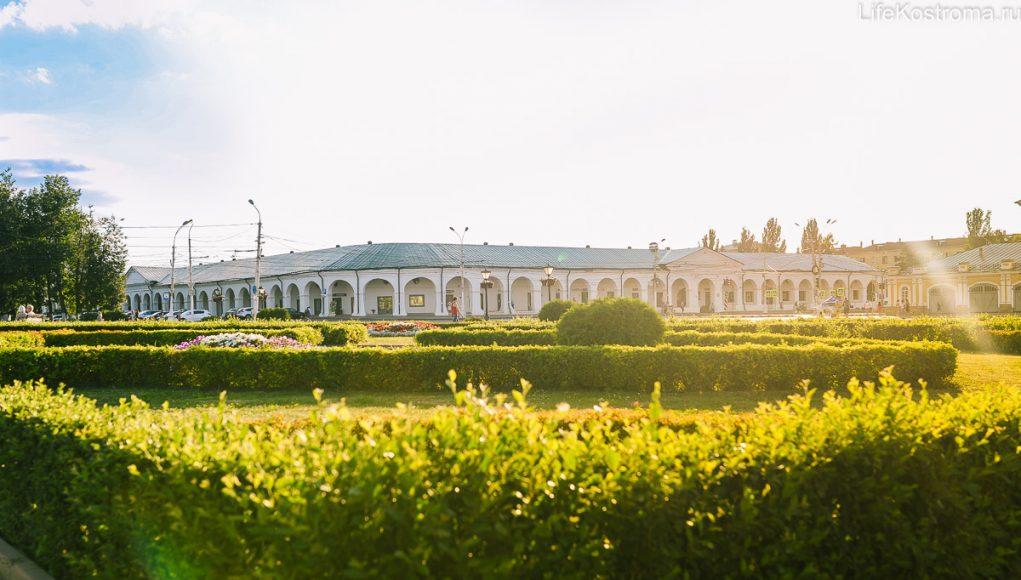Кострома, Памятники, Достопримечательности, Большие мучные ряды
