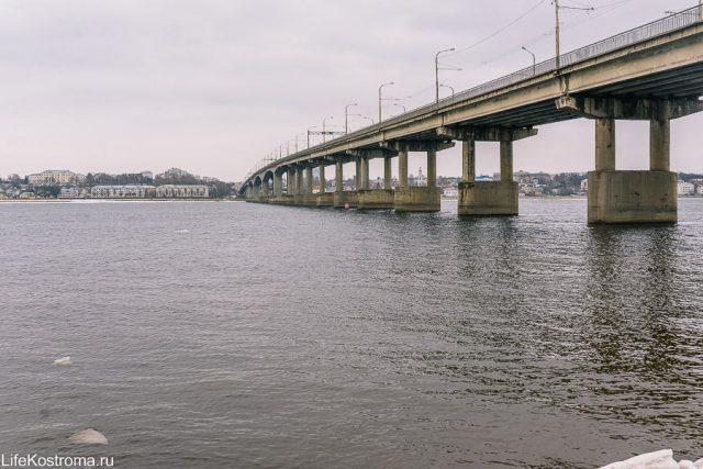 Мост, Кострома, Строительство, Ремонт, Транспорт