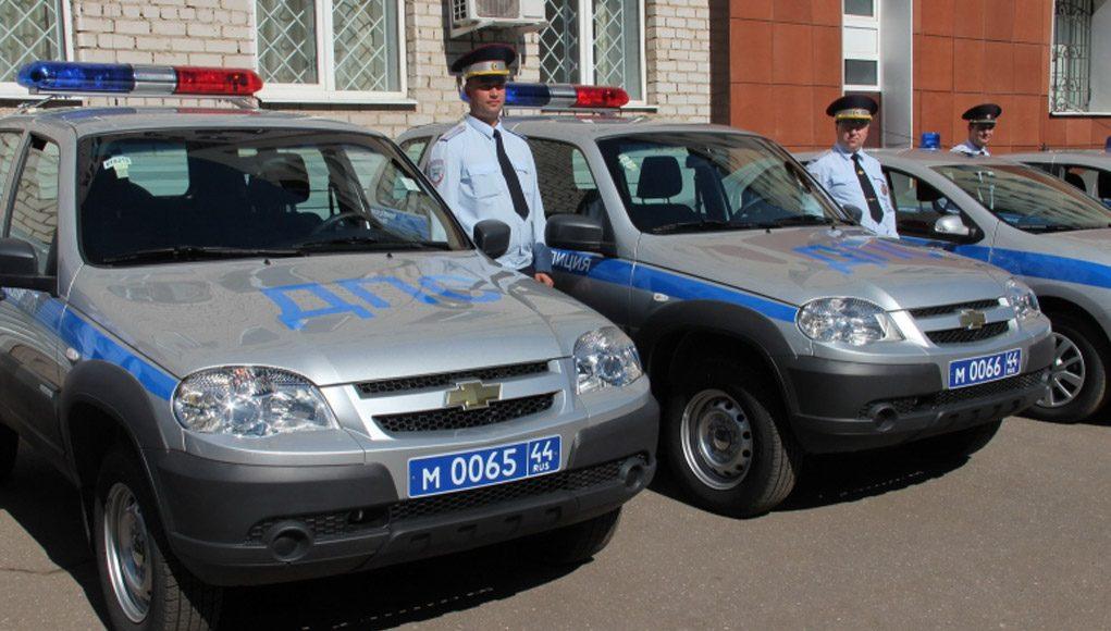 Кострома, Новости, Полиция, Машины