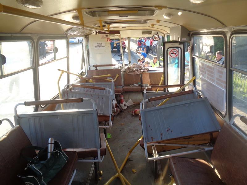 Кострома, Авария, Автобус