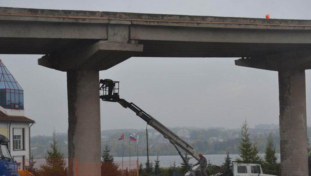 Мост, Ремонт, Октябрь