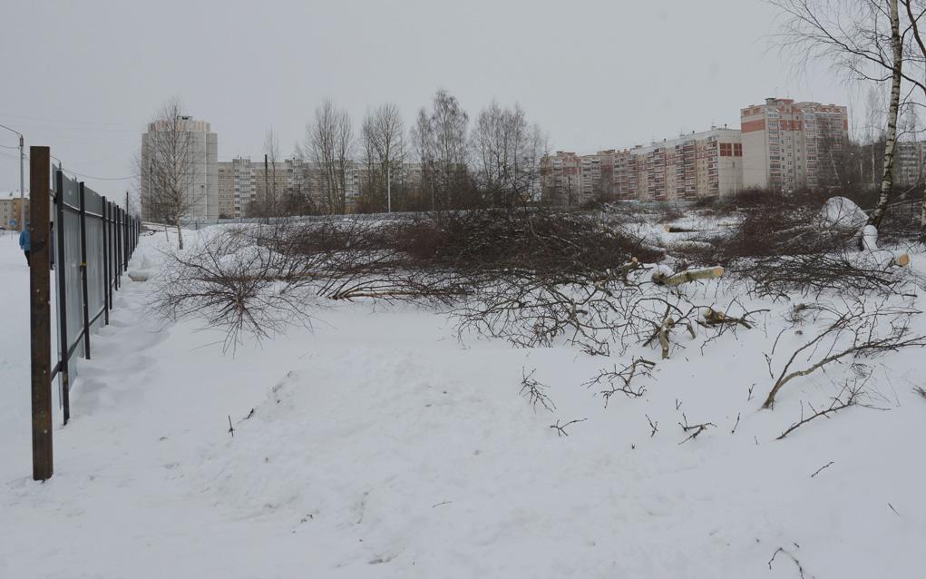 Наулице Суслова вКостроме начали строить новейшую школу