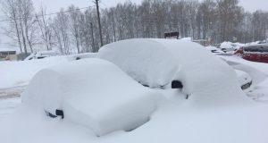 Кострома, Снег, Сугробы