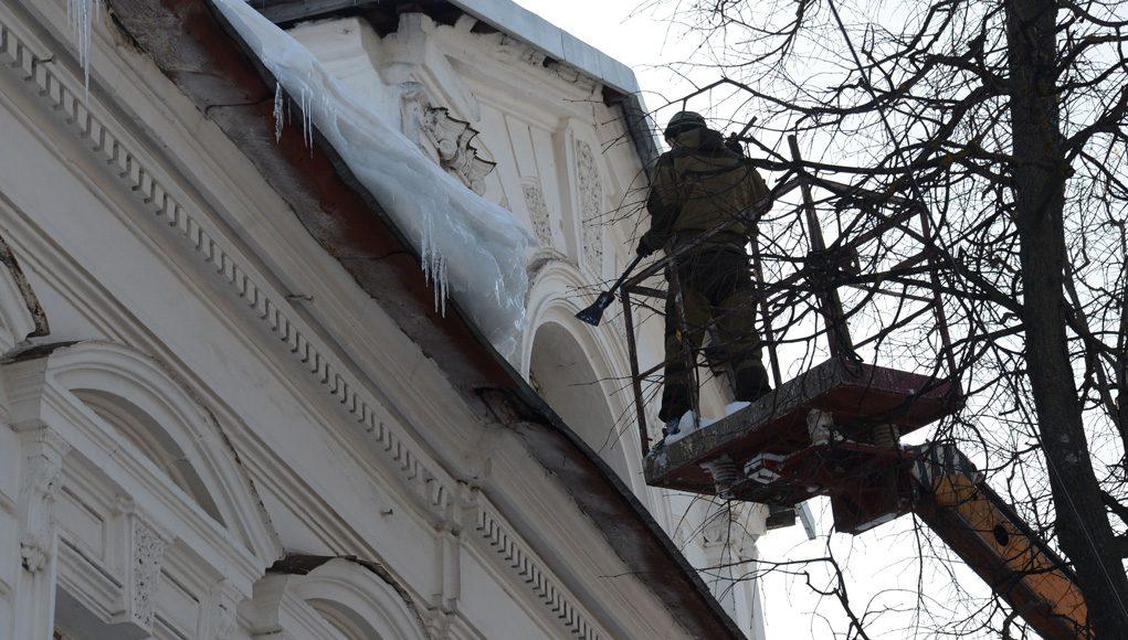 Кострома, Новости, Контроль, Крыши, Снег