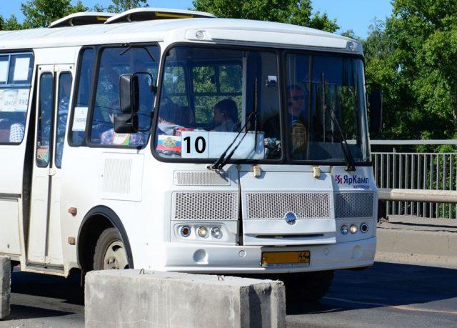 Кострома, Новости, Автобус