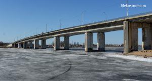 Кострома, Мост, Ремонт, Строительство