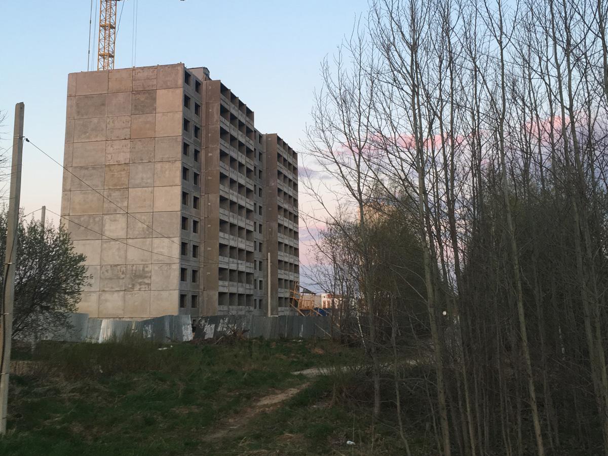 Строительство, Кострома, Агашкина гора, Дольщики